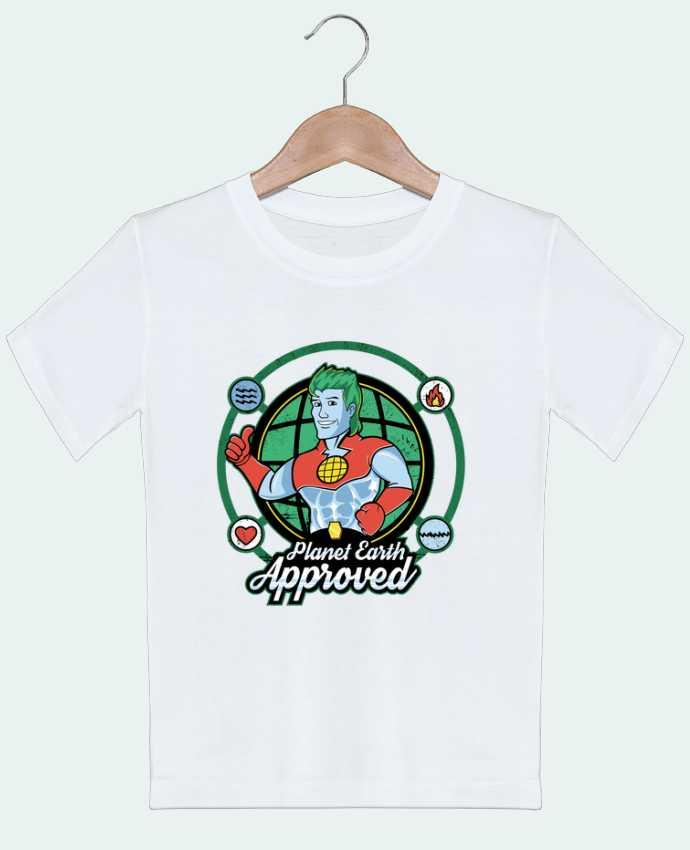 T-shirt Enfant Planet Earth Approved Kempo24