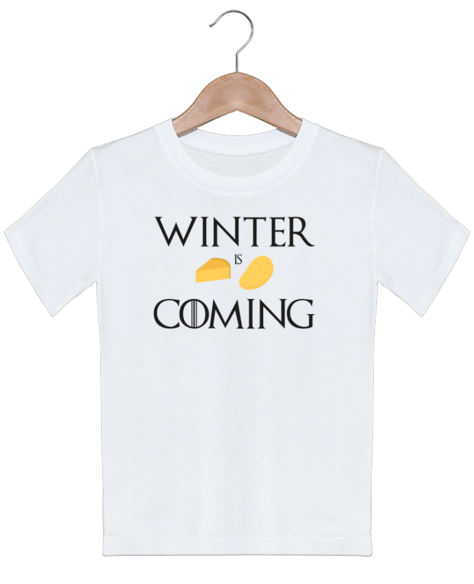 T-shirt Enfant Winter is coming Ruuud