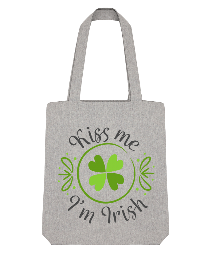 Tote Bag Stanley Stella Kiss me I'm Irish par tunetoo