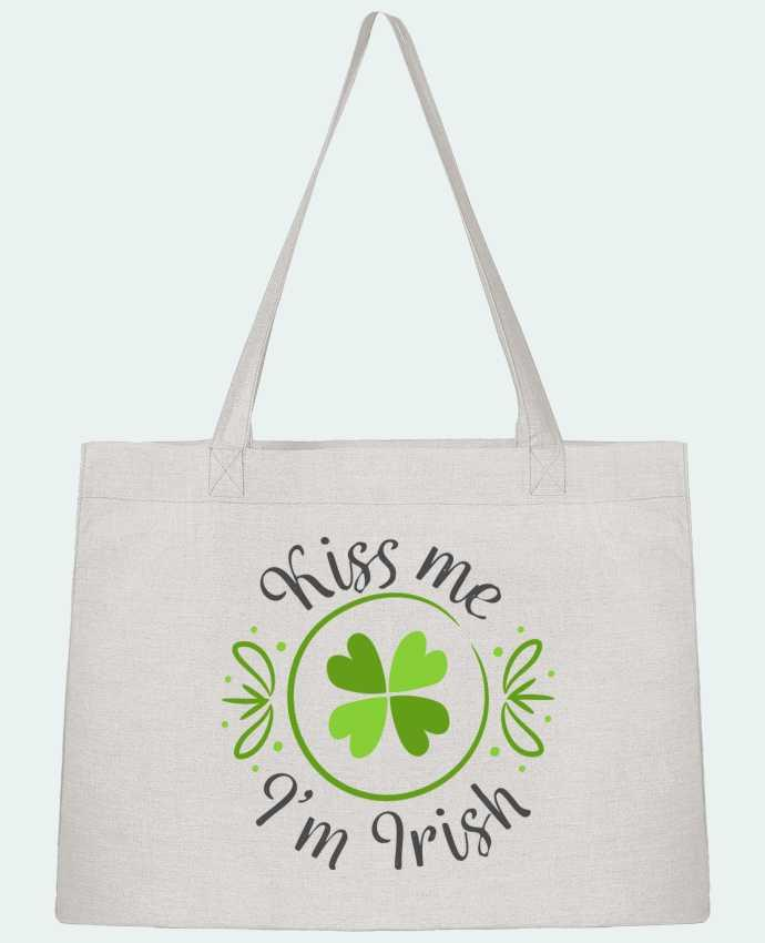 Sac Cabas Shopping Stanley Stella Kiss me I'm Irish par tunetoo