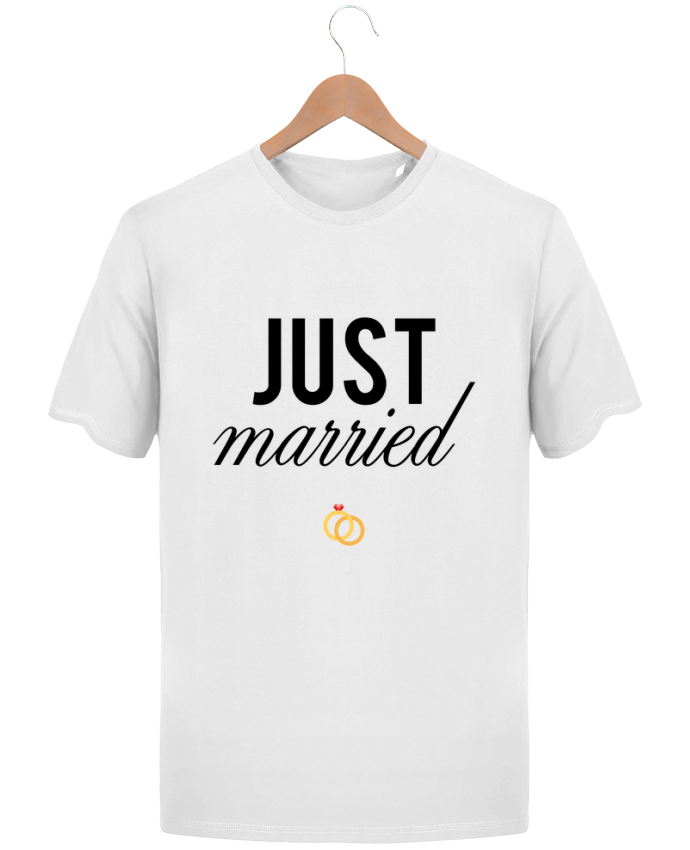 T-Shirt Homme Stanley Hips Just married par tunetoo