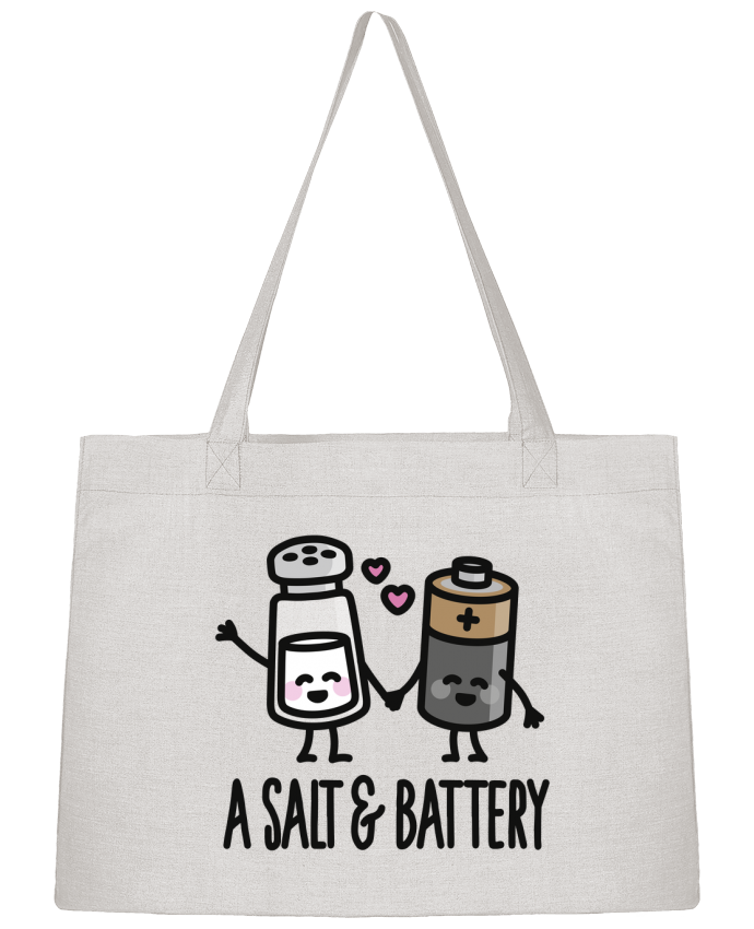 Sac Cabas Shopping Stanley Stella A salt and battery par LaundryFactory