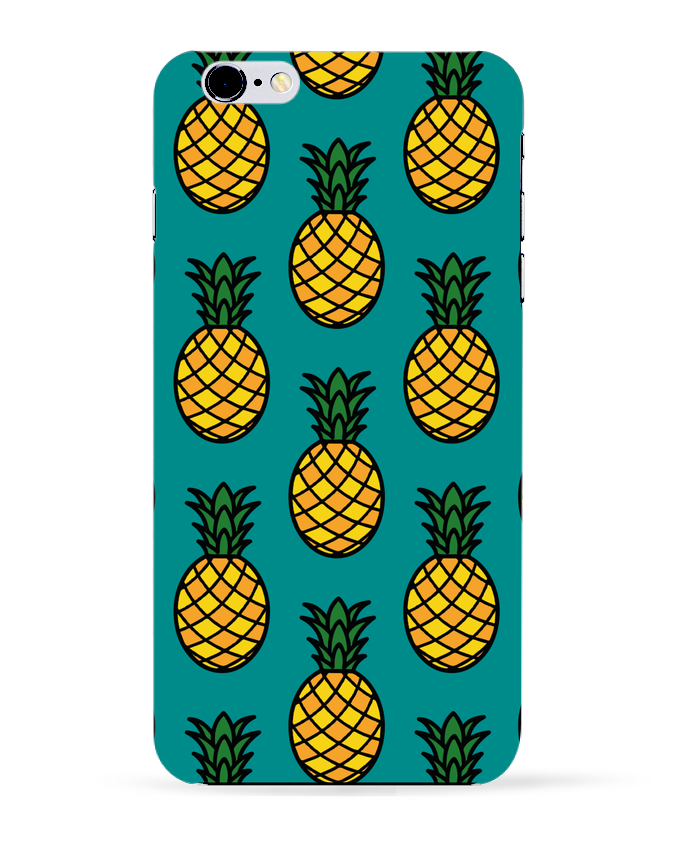 Coque 3D Iphone 6+ Ananas orange de tunetoo