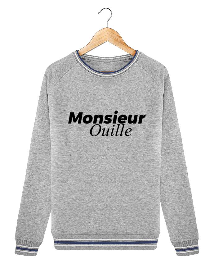 Sweat Col Rond Stella Trips Tipped Monsieur Ouille par tunetoo
