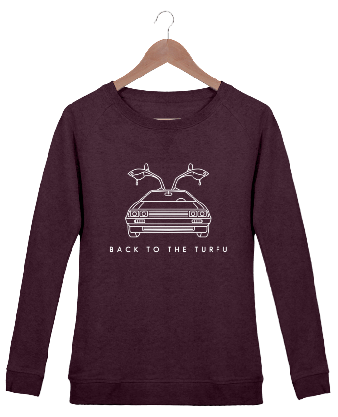 Sweat Col Rond Femme Stella Trips Back to the turfu par tunetoo