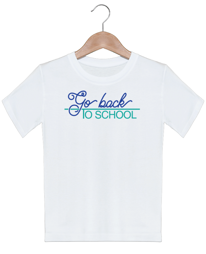 T Shirt Enfant Go Back To School Tunetoo