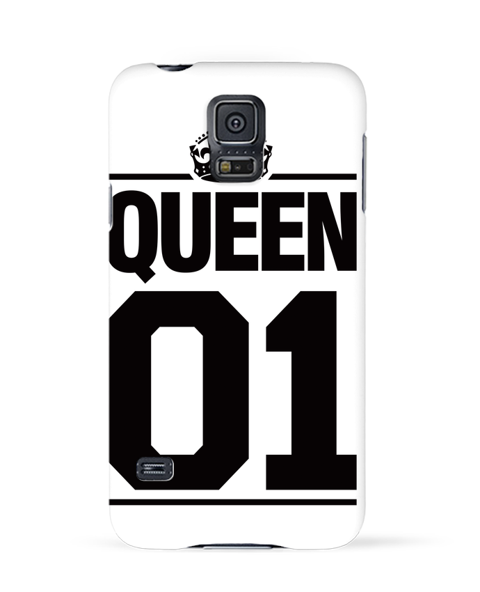Coque 3D Samsung Galaxy S5 Queen 01 par Freeyourshirt.com
