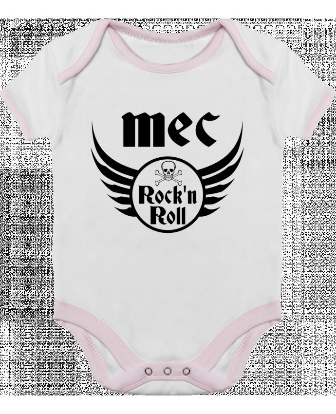 Body Bébé Contrasté Mec rock'n roll par Les Caprices de Filles