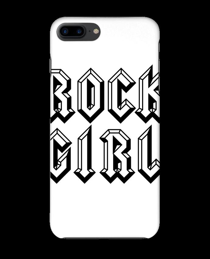 Coque 3D Iphone 7+ Rock Girl par Freeyourshirt.com