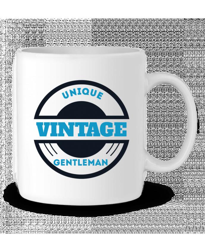 Mug en Céramique Unique vintage gentleman par Les Caprices de Filles
