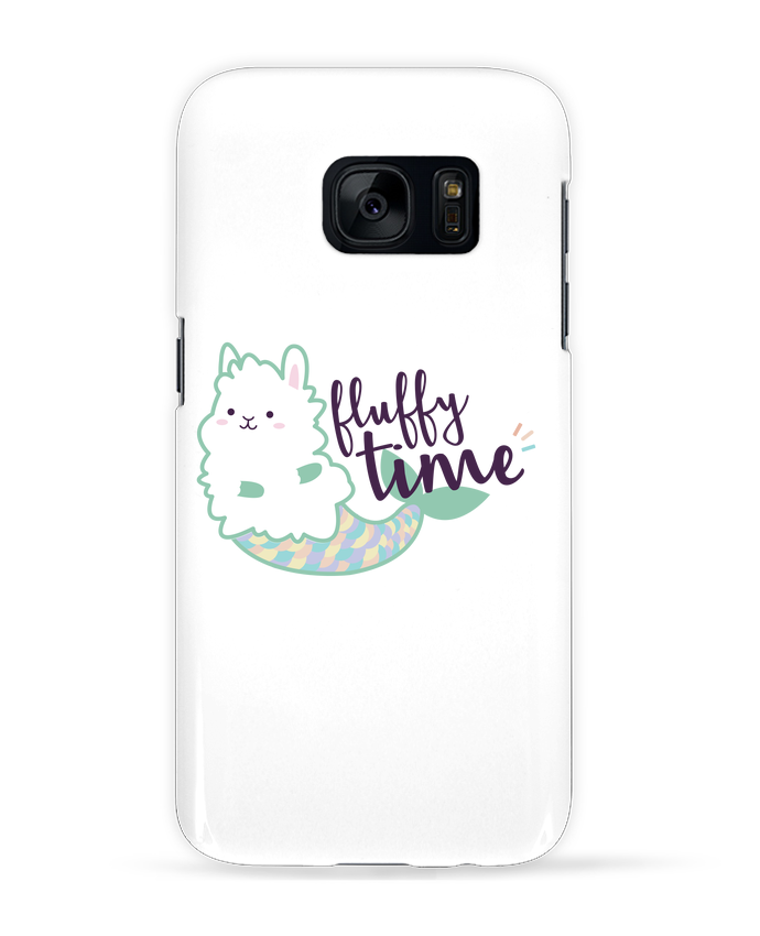 Coque 3D Samsung Galaxy S7 Mermaid Fluffy par Nana