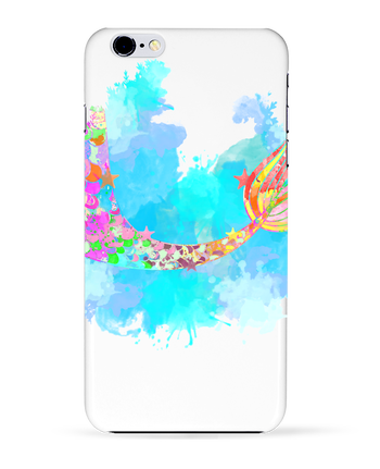 Coque 3D Iphone 6+ Watercolor Mermaid de PinkGlitter