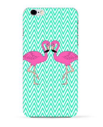 Coque 3D Iphone 6+ Flamingo de M.C DESIGN