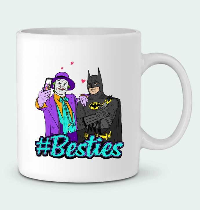 Mug  #Besties Batman par Nick cocozza