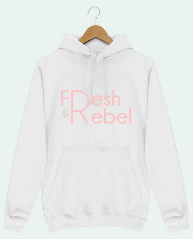 Sweat Shirt à Capuche Homme Fresh and Rebel par tunetoo