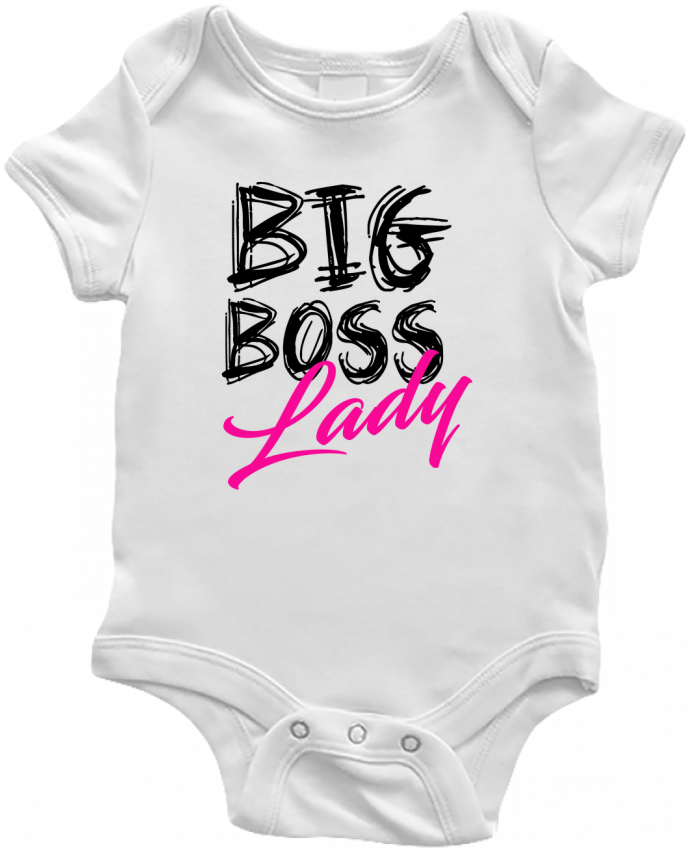 Body Bébé big boss lady par DesignMe