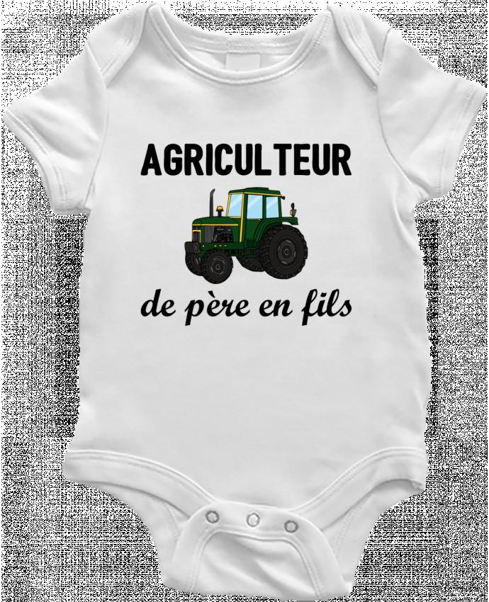 Body Bébé Agriculteur de père en fils par tunetoo
