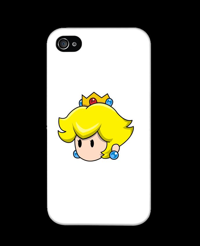 Coque iPhone 4 Princesse Peach Duo par tunetoo