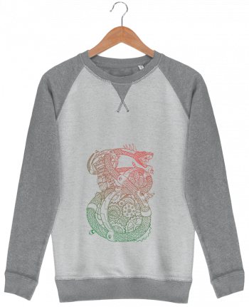 Sweat French Terry Méca Serpent par Tomi Ax