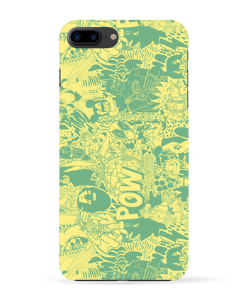 Coque 3D Iphone 7+ Comics style Pattern par Nick cocozza