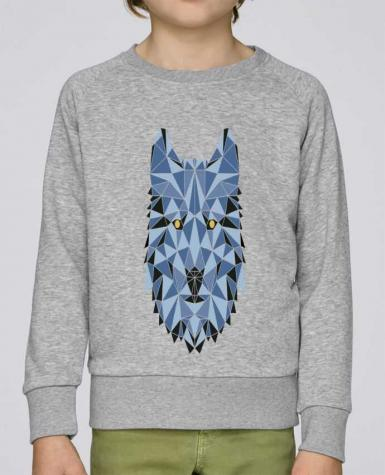 Sweat Col Rond Enfant Stanley Mini Scouts wolf - geometry 3 par /wait-design