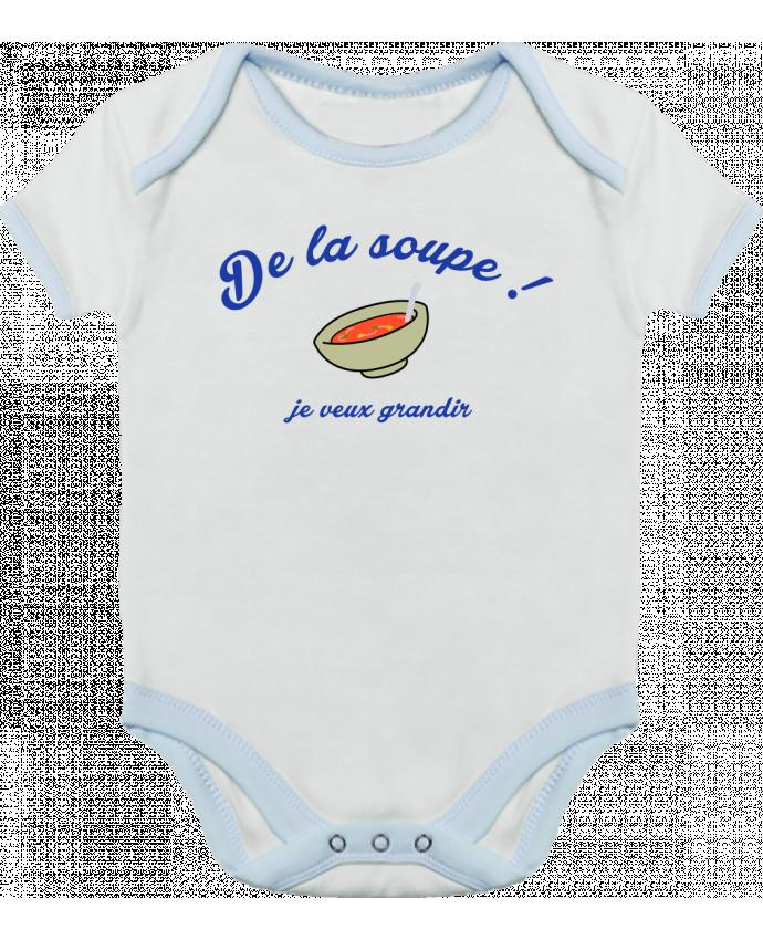 Body Bébé Contrasté De la soupe ! par tunetoo