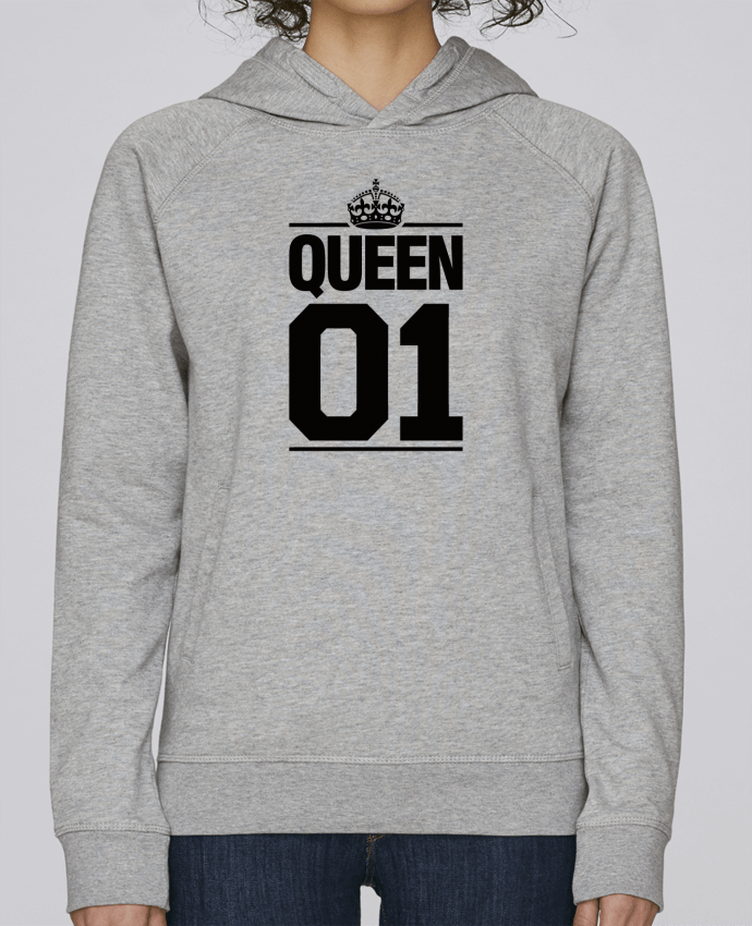 Sweat Capuche Femme Stanley Base Queen 01 par Freeyourshirt.com