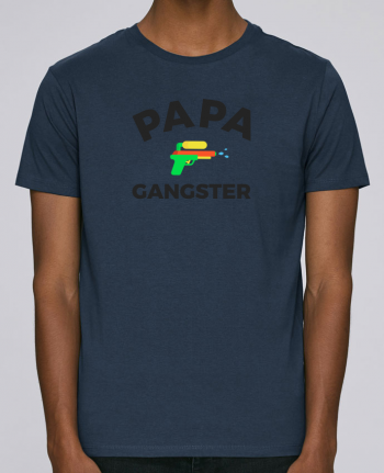 T-Shirt Col Rond Stanley Leads Papa Ganster par Ruuud