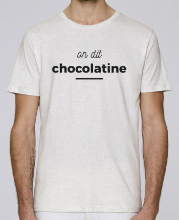 T-Shirt Col Rond Stanley Leads On dit chocolatine par Ruuud