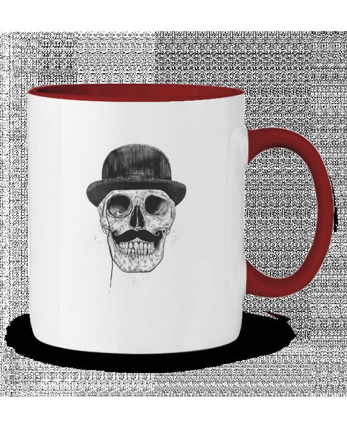 Mug en Céramique Bicolore Gentleman never die Balàzs Solti