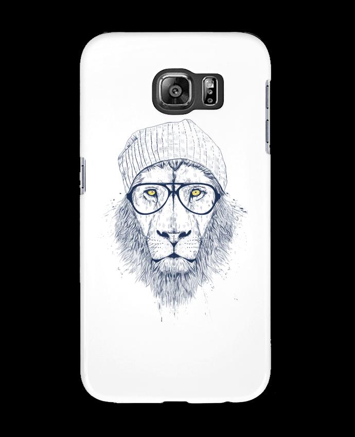 Coque 3D Samsung Galaxy S6 Cool Lion - Balàzs Solti