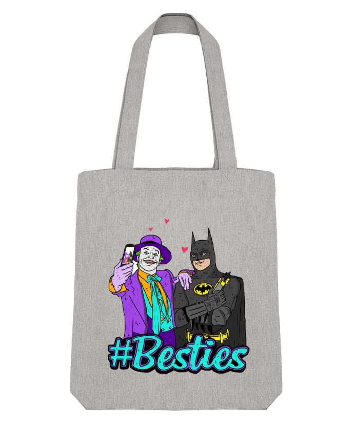 Tote Bag Stanley Stella #Besties Batman par Nick cocozza