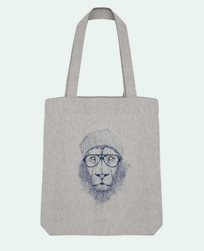 Tote Bag Stanley Stella Cool Lion par Balàzs Solti