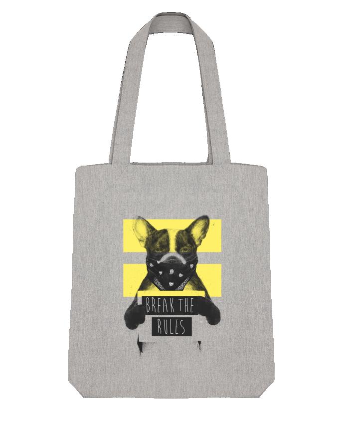 Tote Bag Stanley Stella rebel_dog_yellow par Balàzs Solti