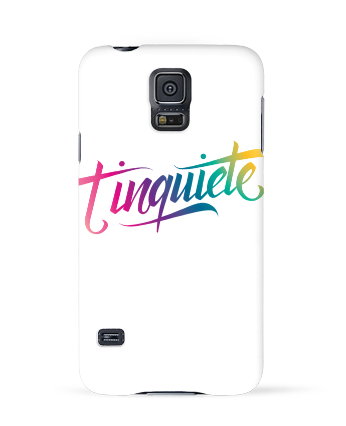 Coque Samsung Galaxy S5 Tinquiete par Promis